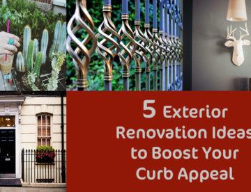 5 exterior renovation ideas