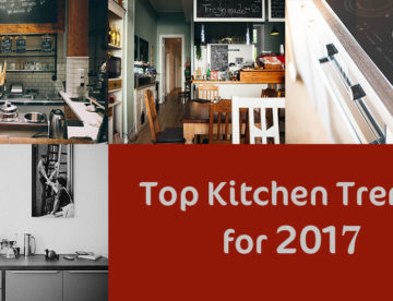 top kitchen trends for 2017