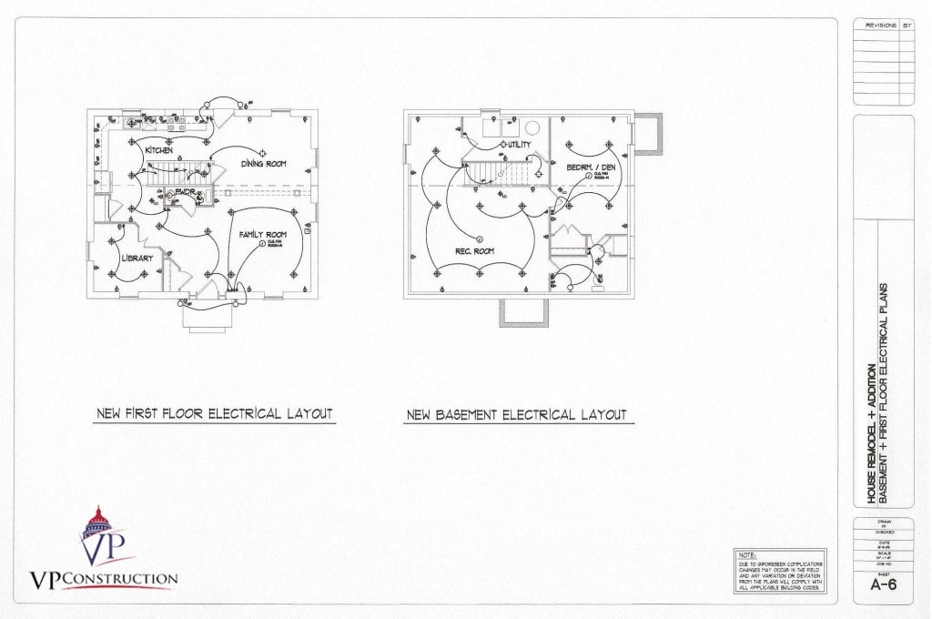 electrical house plan layout remodel 500 sqft new addition vp builds  remodel 500 sqft new addition vp builds